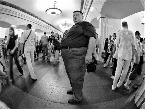 Лица метро