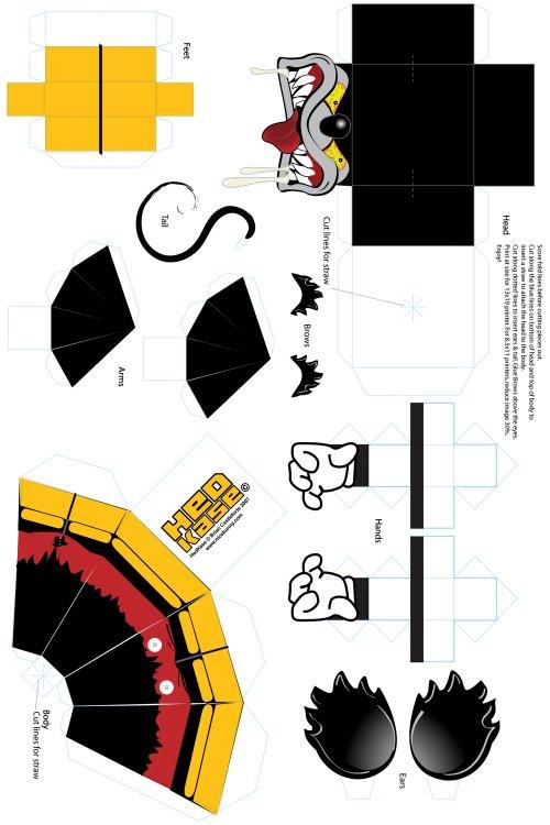 Как сделать необычные игрушки из бумаги