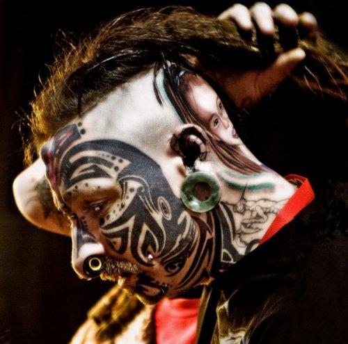 Фрики и их татуировки