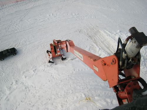 Самая большая Снежная Баба