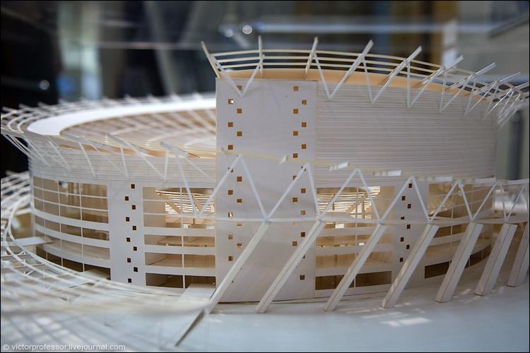 Макет стадиона своими руками