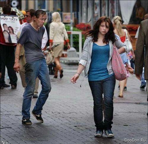 съем на улице девушек фото