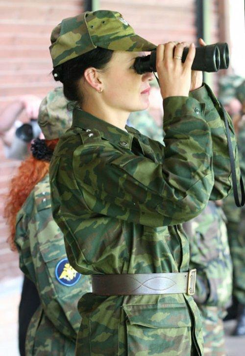 частное фото в военной форме