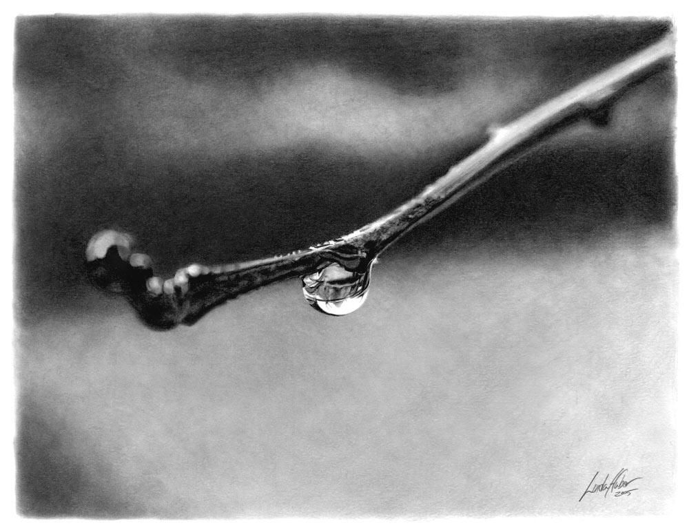 Рисунки карандашом от Linda Huber (32 Фото)