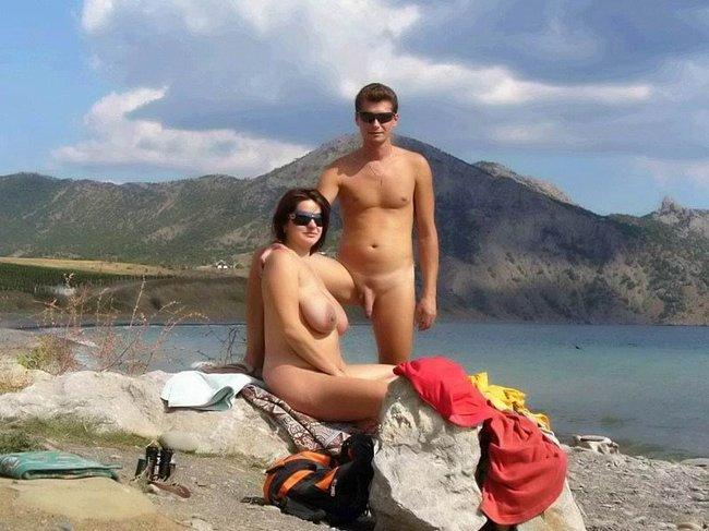 Фото на нудистком пляже женщин