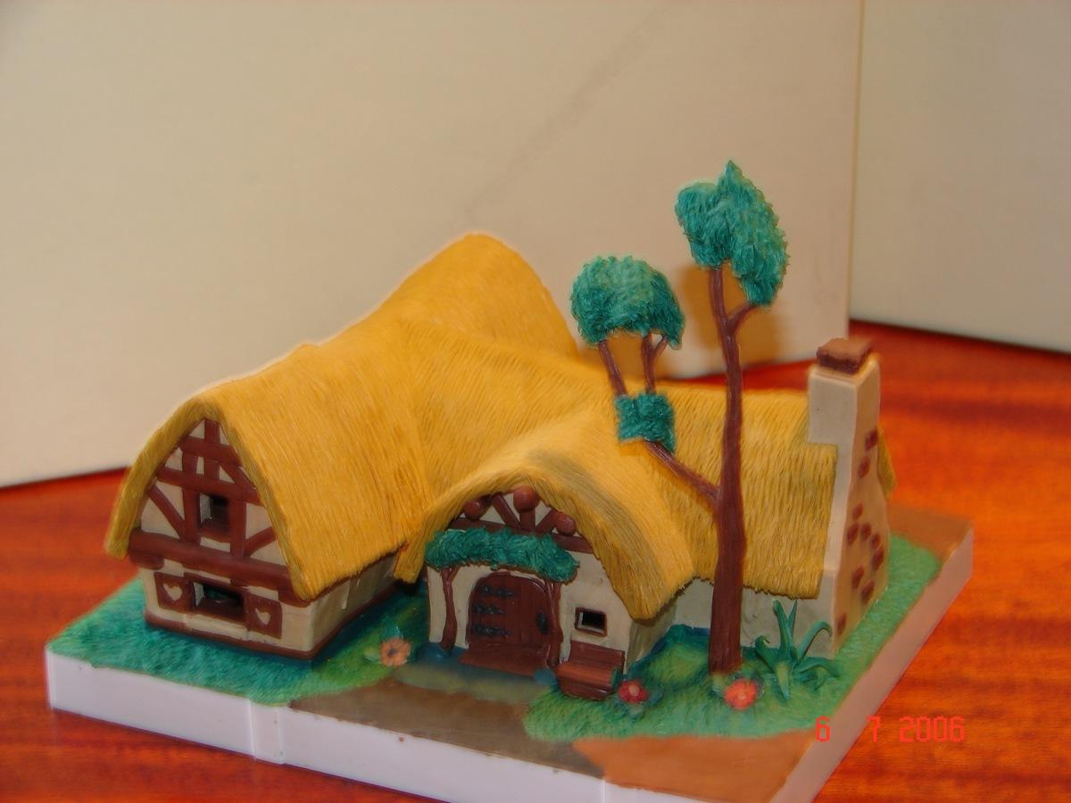 Как сделать дом из пластилина поэтапно