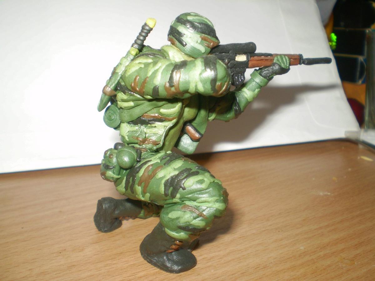 Солдатик своими руками фото