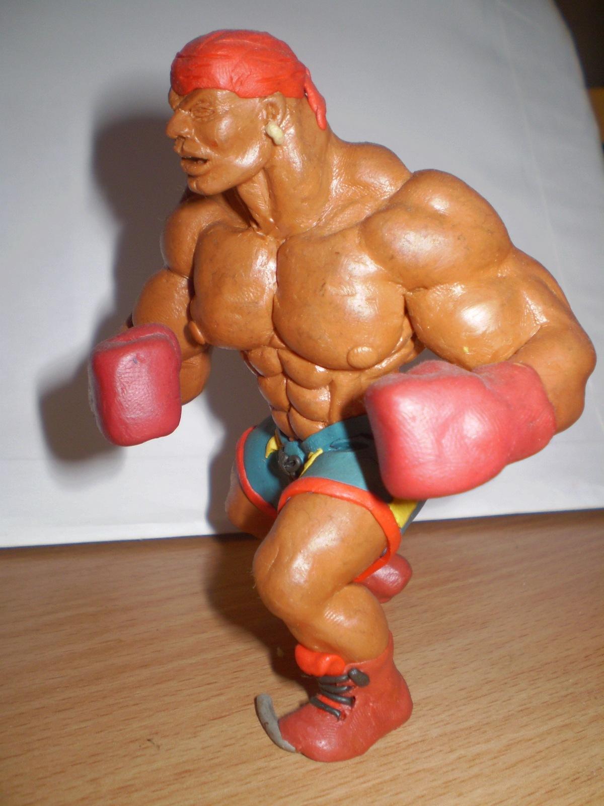 Человека из пластилина своими руками