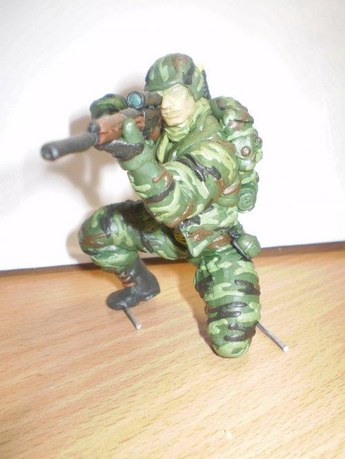 Поделки из пластилина солдаты 81