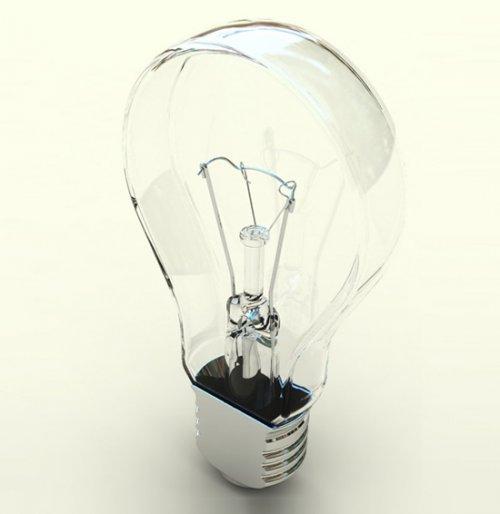 Плоская лампочка