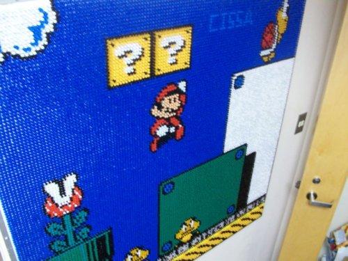 Марио из кнопок