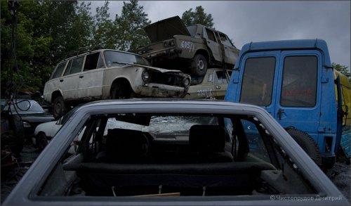Автосвалка в Москве