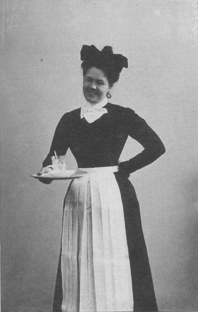 Горничная. Начало 1900-х гг.