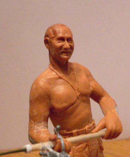Путин на рыбалке