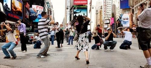 Прохожие Нью-Йорка