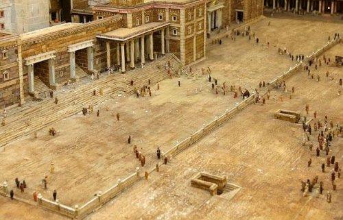 Модель библейского Храма