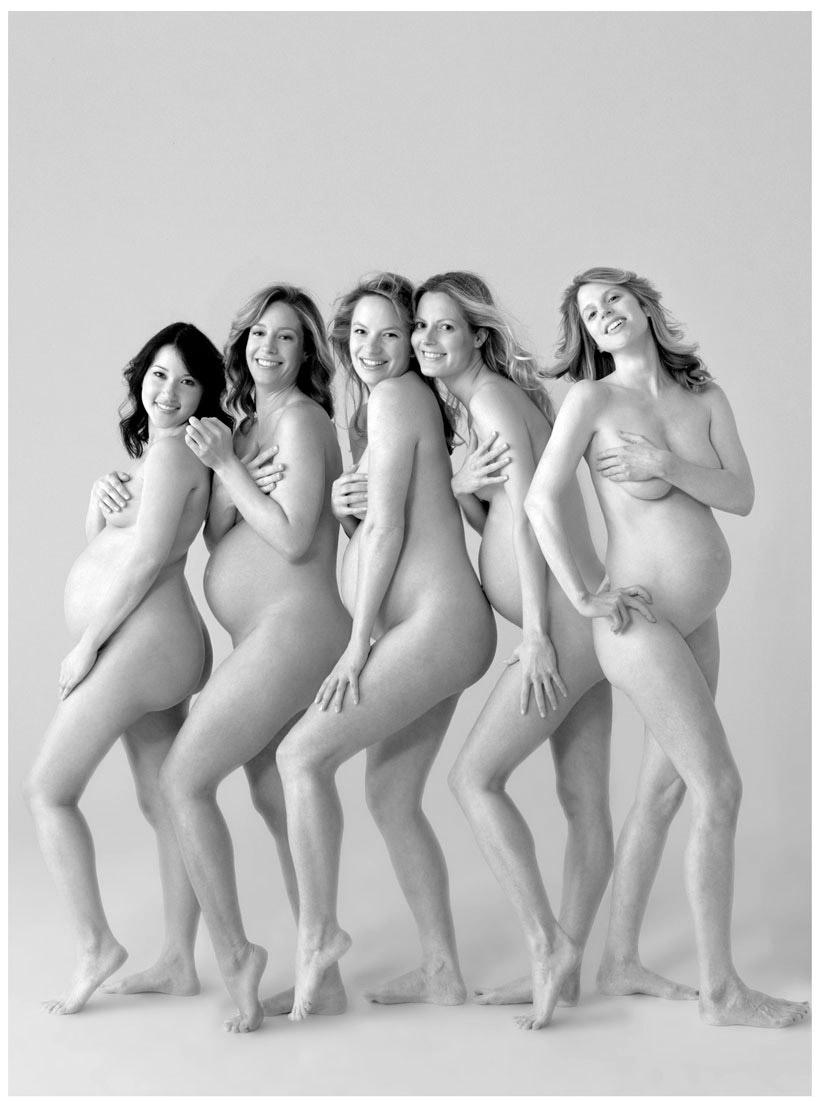 Меньше голые беременные красотки вскочил ноги
