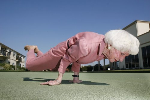 Ловкая бабушка