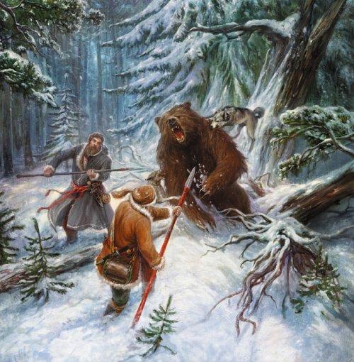 Медведь картина, бесплатные фото, обои ...: pictures11.ru/medved-kartina.html