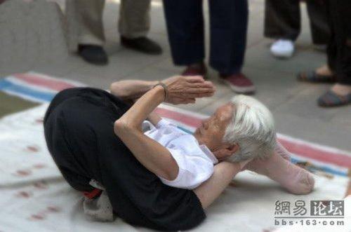 Йога для бабушки