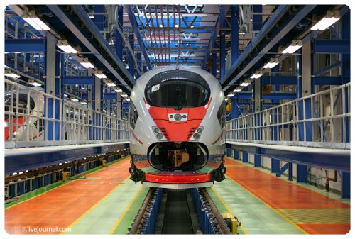 Siemens Velaro Rus Сапсан