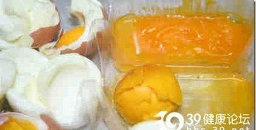 Поддельные яйца из Китая