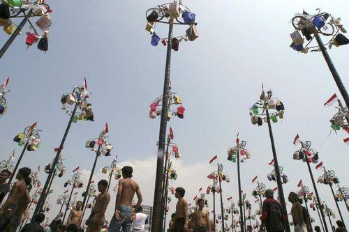 Ярмарка в Индонезии