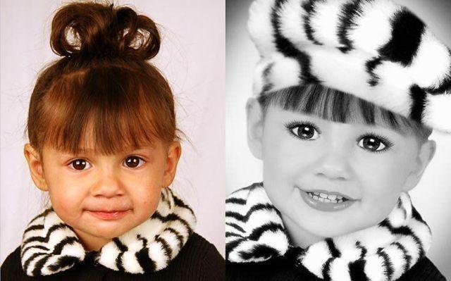 Как сделать детский фотошоп фотографии