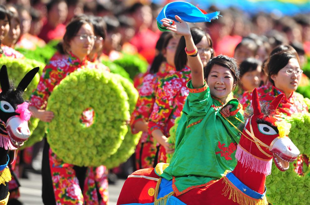 Если в октября праздники в китаи