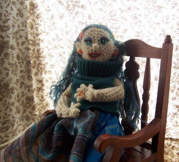 Рожающая кукла