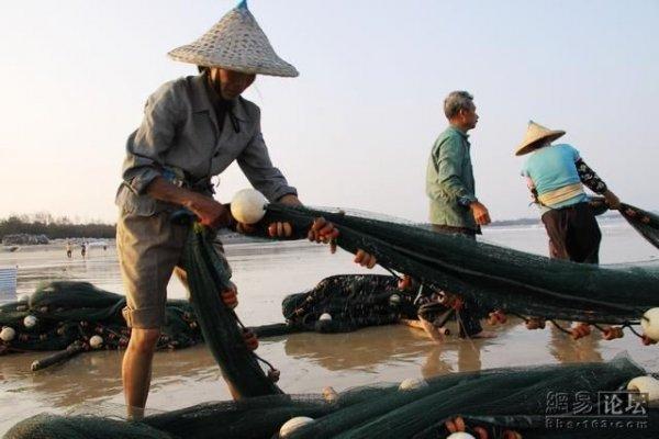 ловля крупной рыбы сетью