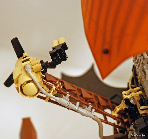 Трудно представить вместе конструктор Лего и стиль Стимпанк.  Но оказывается, ничего невозможного нет.