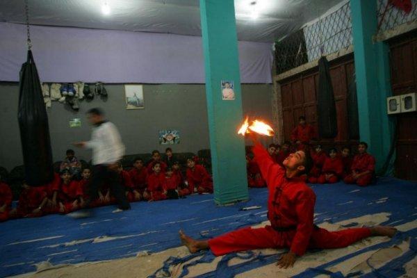 Мастерство мальчишек из Сектора Газа