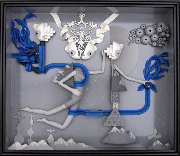 Пластилиновый арт
