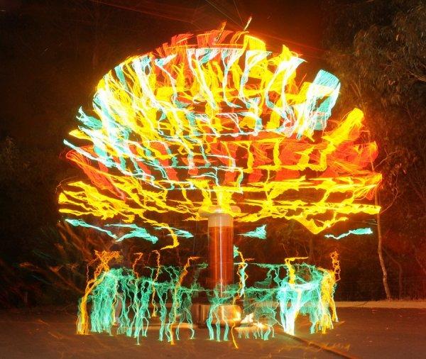 Высоковольтная елка