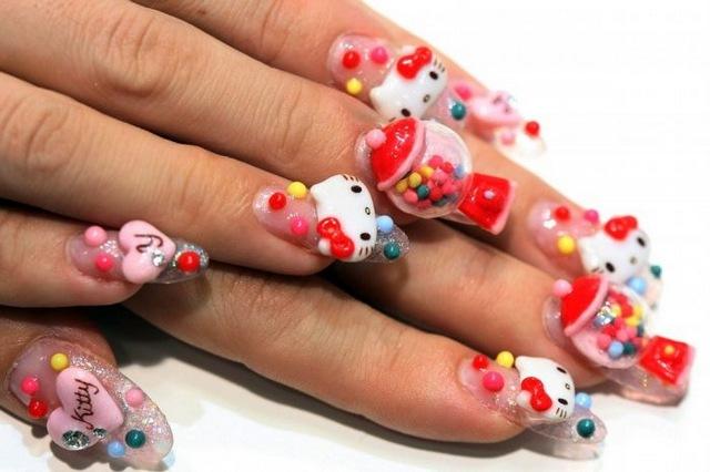 Самые необычные рисунки на ногтях