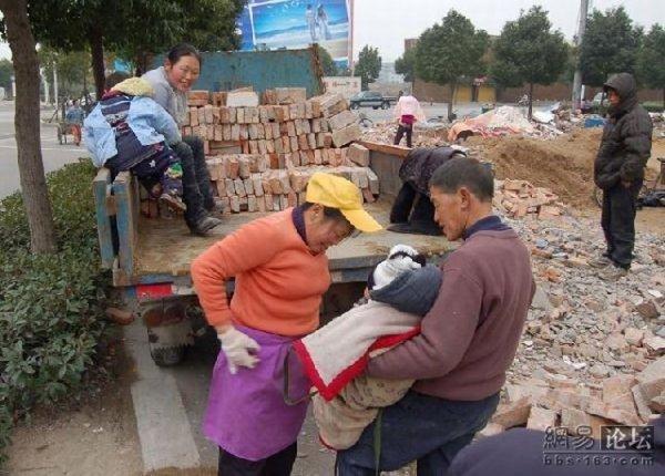 Тяжелая жизнь китайцев