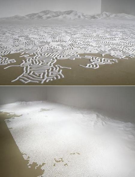 Лабиринт из соли