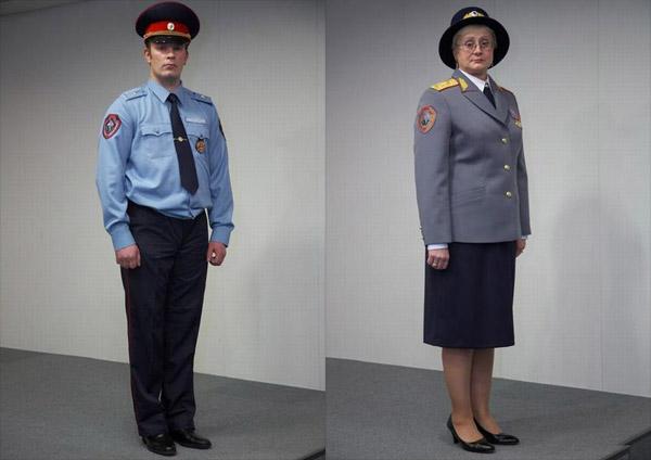 Новая форма милиции