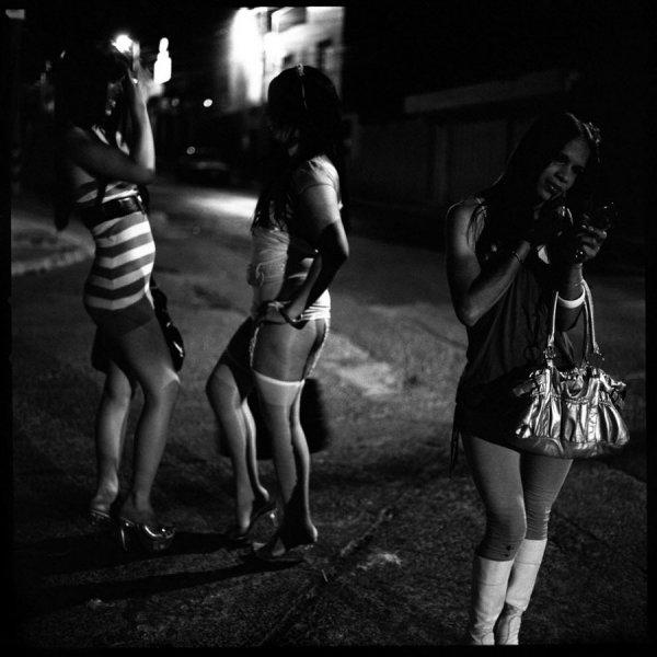 Вич среди уличных проституток