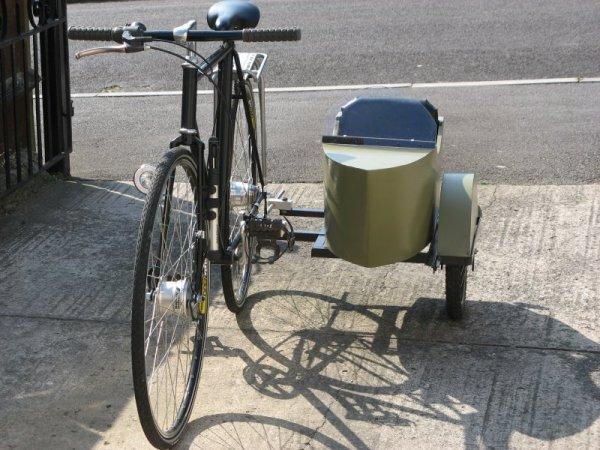 Велосипед с коляской своими руками