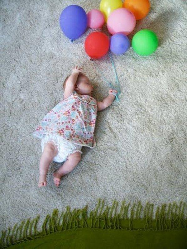 Идея фото с ребенком