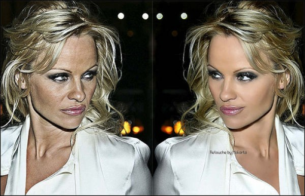 Звезды до и после фотошопа