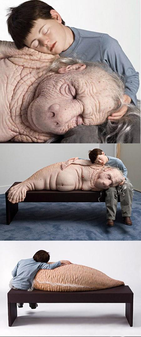 Необычные и провокационные скульптуры