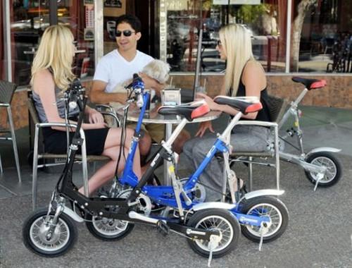 Велосипед на батарейках