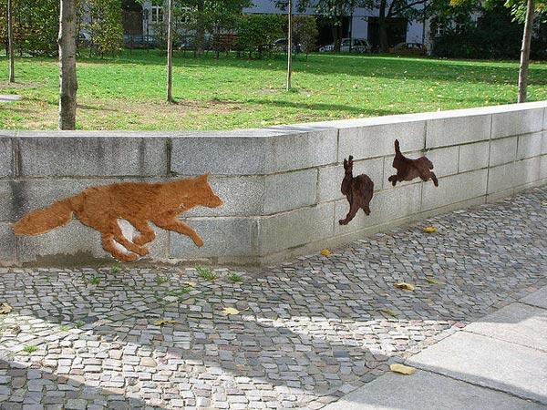 Стрит-арт из меха