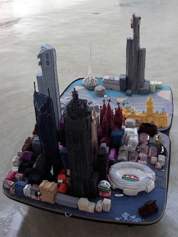 Город в чемодане