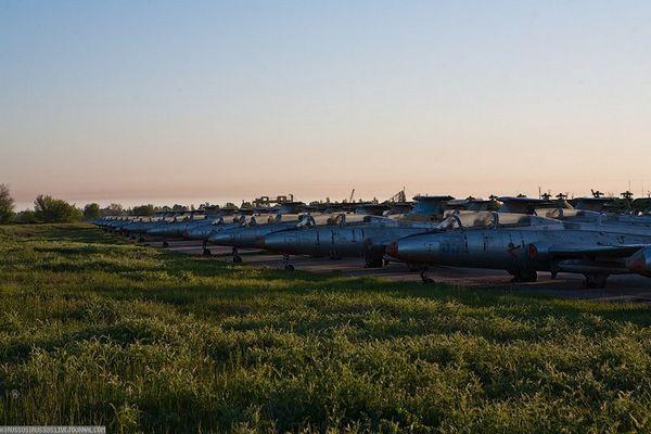 Заброшенный аэродром на Украине