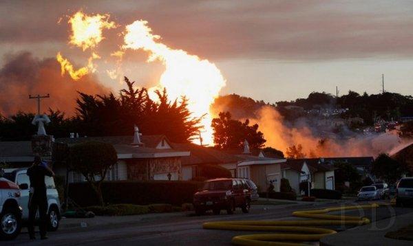 Взрыв газа и его последствия