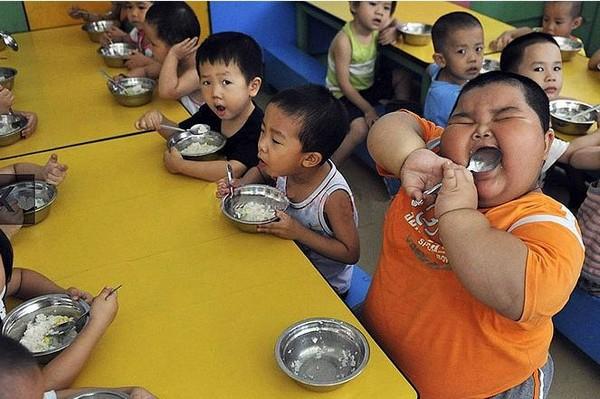 Толстый мальчик из Китая